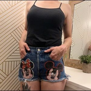 Vintage Disney Denim Shorts